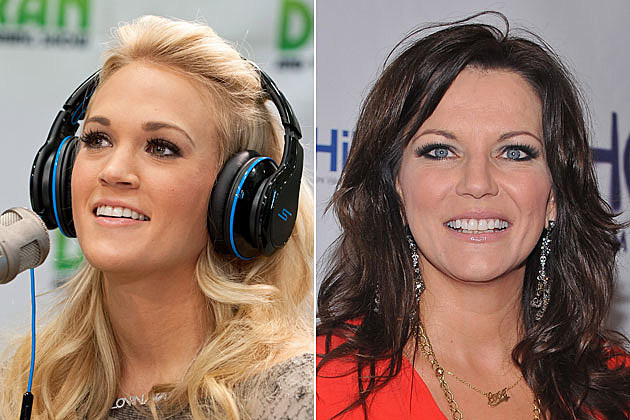 Carrie Underwood, Martina McBride