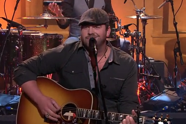 Lee Brice on The Tonight Show