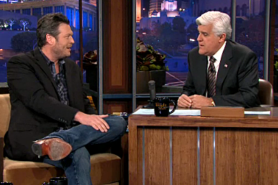 Blake Shelton on The Tonight Show