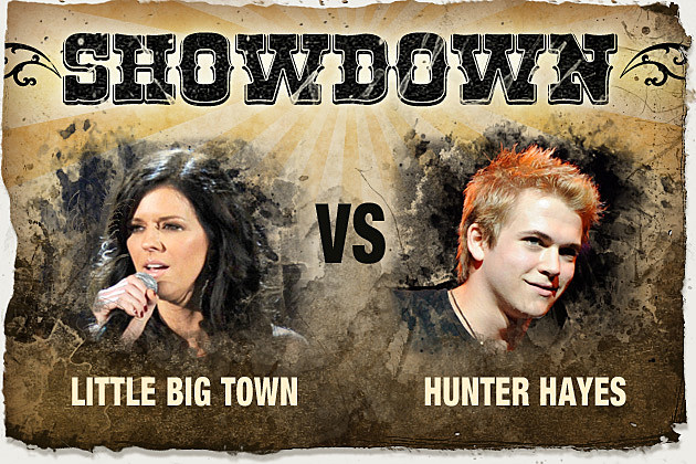 Little Big Town, Hunter Hayes