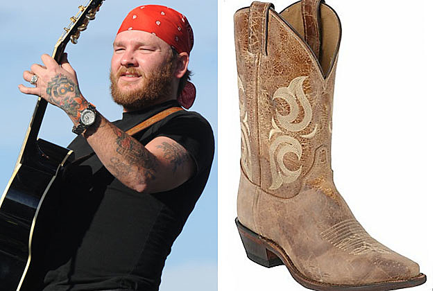 Stoney LaRue, Justin Boots