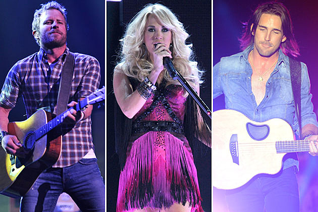 Dierks Bentley, Carrie Underwood, Jake Owen