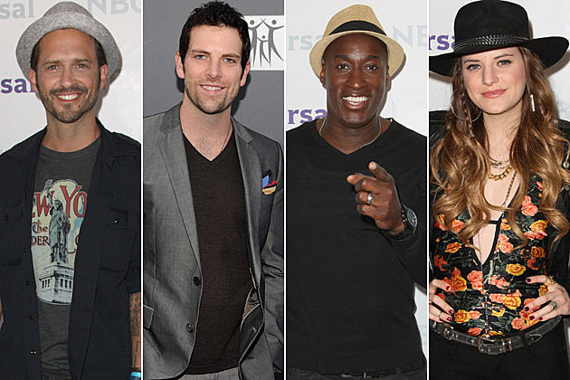 Tony Lucca, Chris Mann, Jermaine Paul, Juliet Simms
