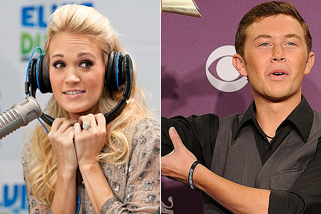 Carrie Underwood, Scotty McCreery