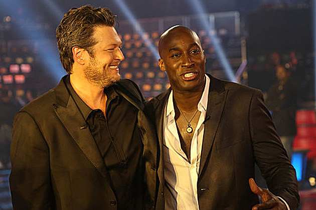 Blake Shelton Jermaine Paul
