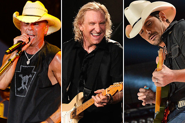 Kenny Chesney, Joe Walsh, Brad Paisley