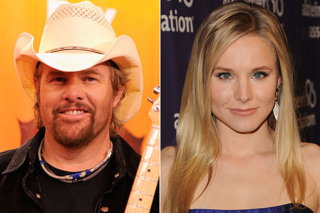 Toby Keith, Kristen Bell