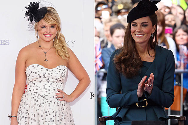 Miranda Lambert, Kate Middleton