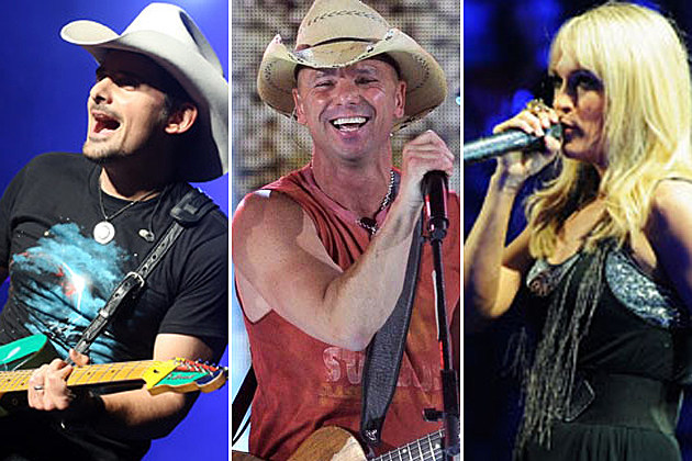 Brad Paisley, Kenny Chesney, Carrie Underwood