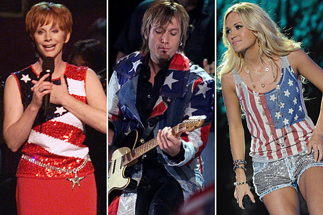 Reba McEntire, Keith Urban, Carrie Underwood