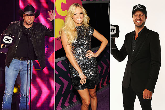 Jason Aldean, Carrie Underwood, Luke Bryan
