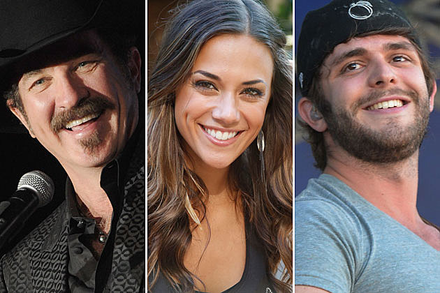 Kix Brooks, Jana Kramer, Thomas Rhett