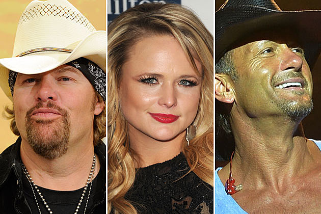 Toby Keith, Miranda Lambert, Tim McGraw
