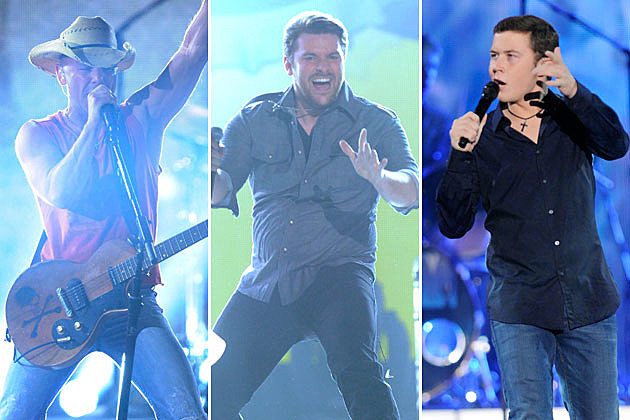 Kenny Chesney, Chris Young, Scotty McCreery