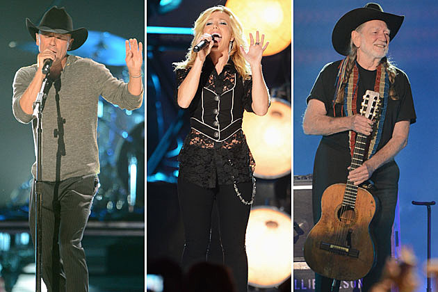 Kenny Chesney, Kimberly Perry, Willie Nelson