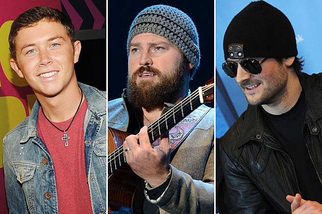 Scotty McCreery, Zac Brown, Eric Church