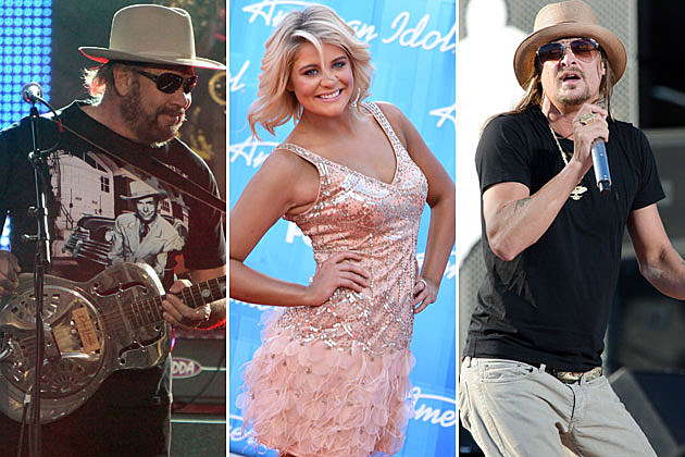 Hank Williams Jr., Lauren Alaina, Kid Rock