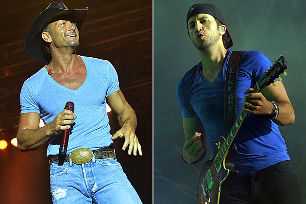 Tim McGraw, Luke Bryan