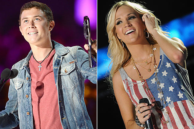 Scotty McCreery, Carrie Underwood
