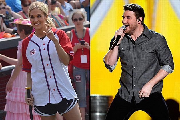 Carrie Underwood, Chris Young