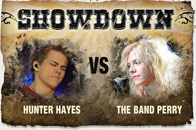 Hunter Hayes, the Band Perry