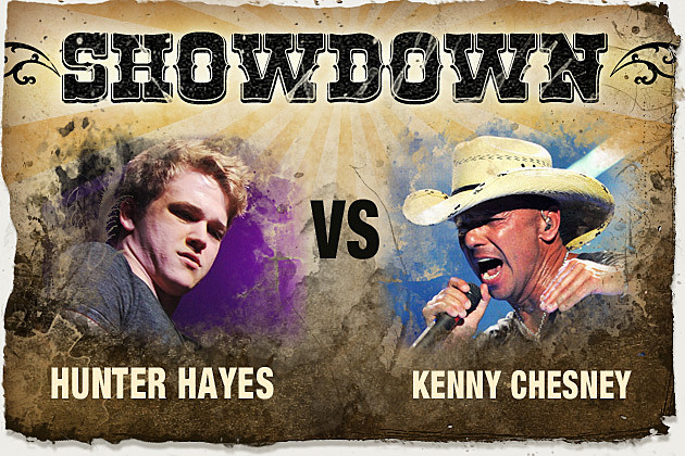 Hunter Hayes, Kenny Chesney
