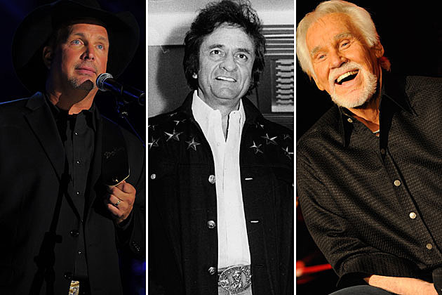 Garth Brooks, Johnny Cash, Kenny Rogers