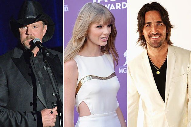 Trace Adkins, Taylor Swift, Jake Owen