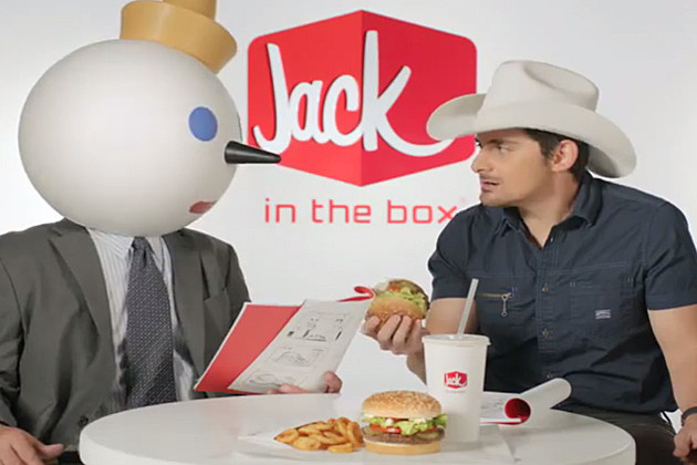 Brad Paisley Jack in the Box Commercial