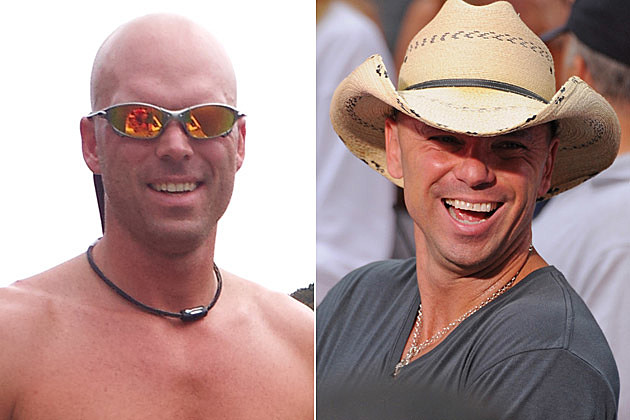 Kenny Chesney Lookalike Nathan Blankenship, Kenny Chesney