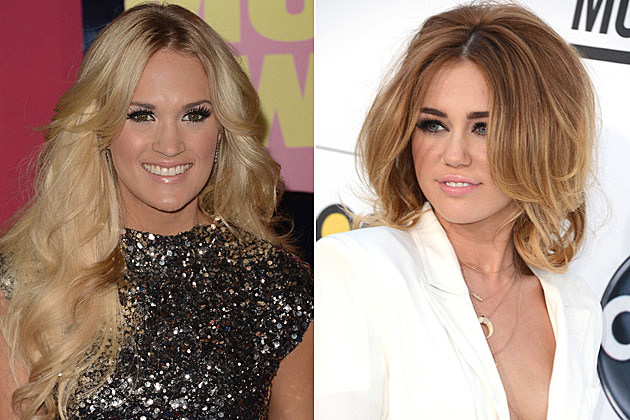 Carrie Underwood, Miley Cyrus