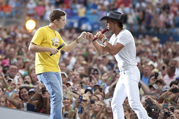 Scotty McCreery, Tim McGraw