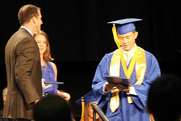 Scotty McCreery Graduation