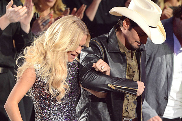 Carrie Underwood, Brad Paisley