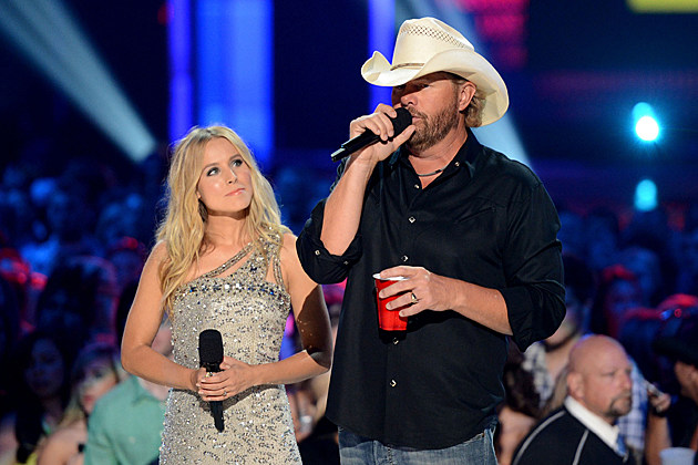 Kristen Bell, Toby Keith