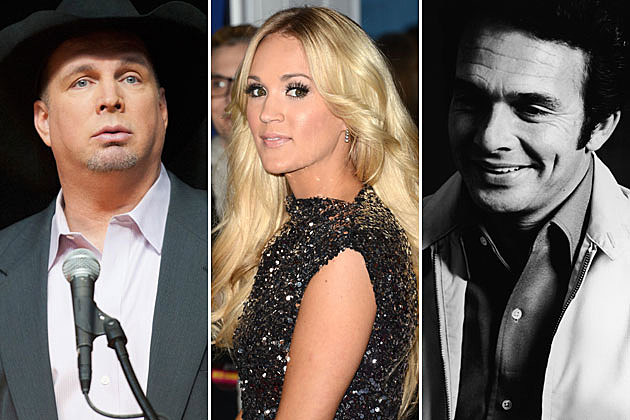 Garth Brooks, Carrie Underwood, Merle Haggard
