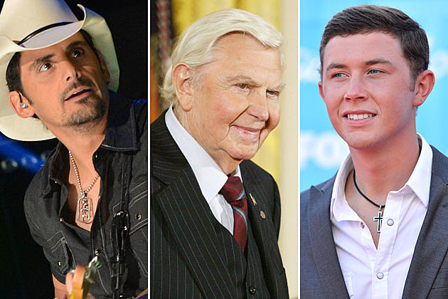 Brad Paisley, Andy Griffith, Scotty McCreery