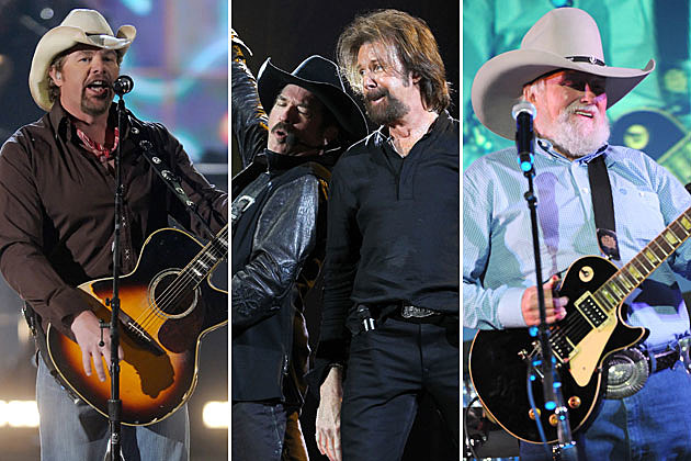 Toby Keith, Brooks and Dunn, Charlie Daniels
