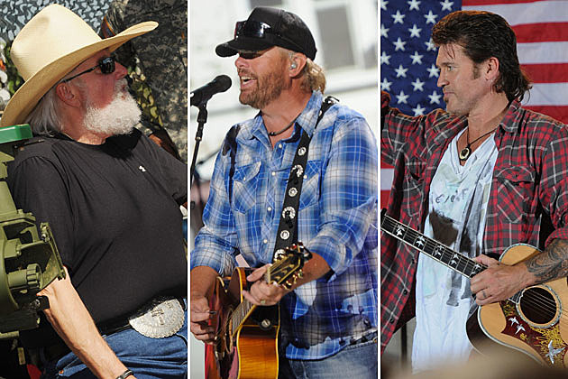 Charlie Daniels, Toby Keith, Billy Ray Cyrus