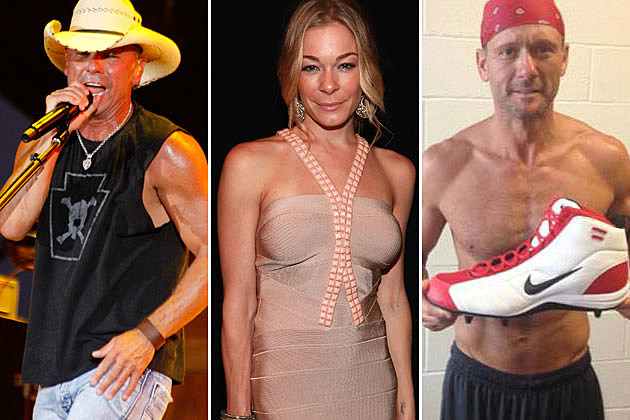 Kenny Chesney, LeAnn Rimes, Tim McGraw