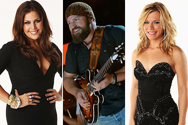 Hillary Scott, Zac Brown, Kimberly Perry