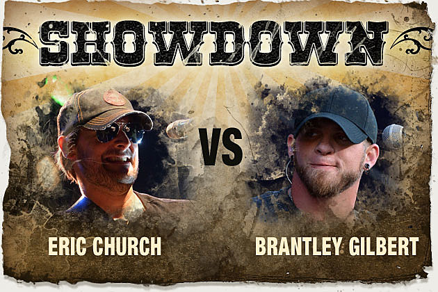 Eric Church, Brantley Gilbert