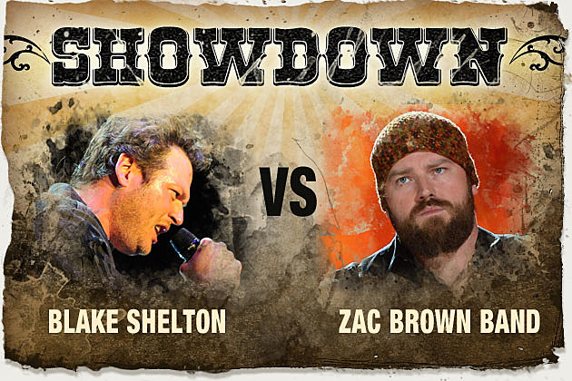 Blake Shelton, Zac Brown