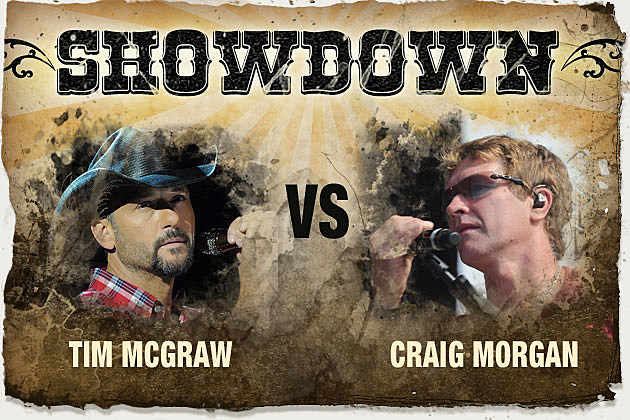 Tim McGraw, Craig Morgan
