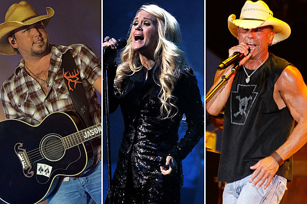 Jason Aldean, Carrie Underwood, Kenny Chesney