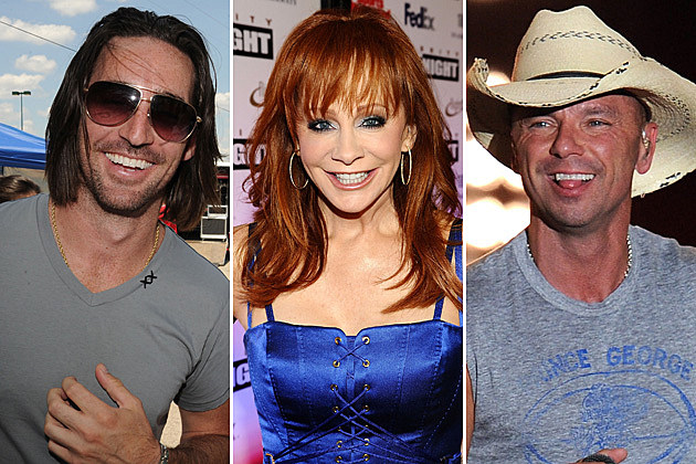 Jake Owen, Reba McEntire, Kenny Chesney