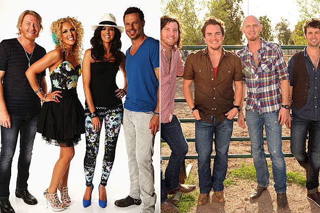 Little Big Town, Eli Young Band