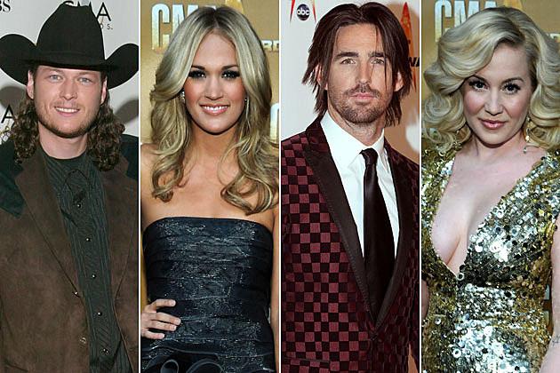 Blake Shelton, Carrie Underwood, Jake Owen, Kellie Pickler