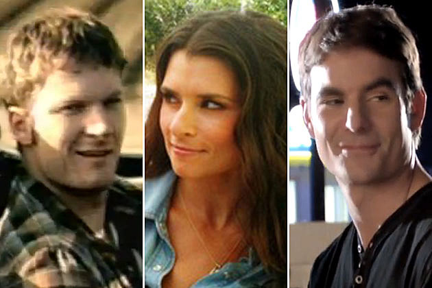 Dale Earnhardt Jr., Danica Patrick, Jeff Gordon