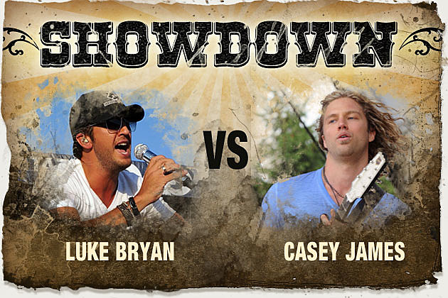 Luke Bryan, Casey James